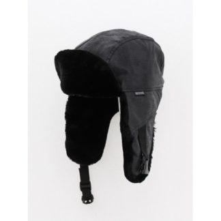 Мех мутон чёрный