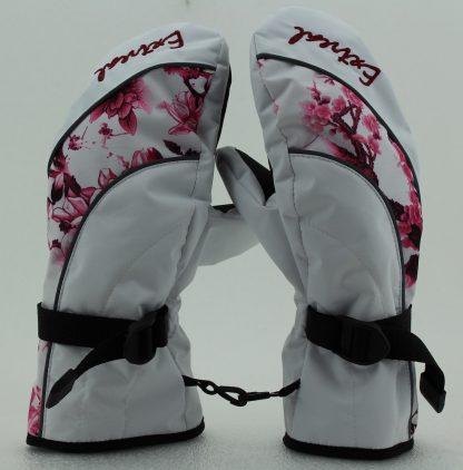Белый/Сакура розовая